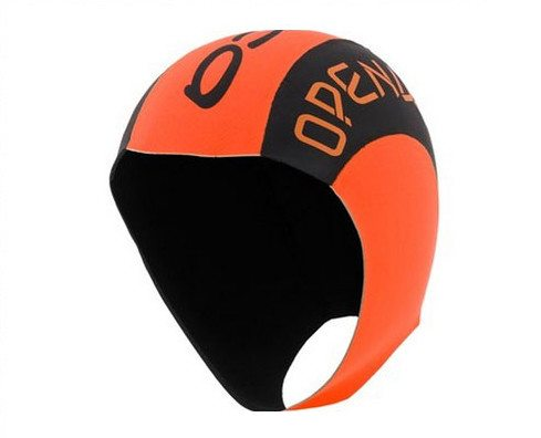 2015 Orca Neoprene Swim Cap High Vis Orange