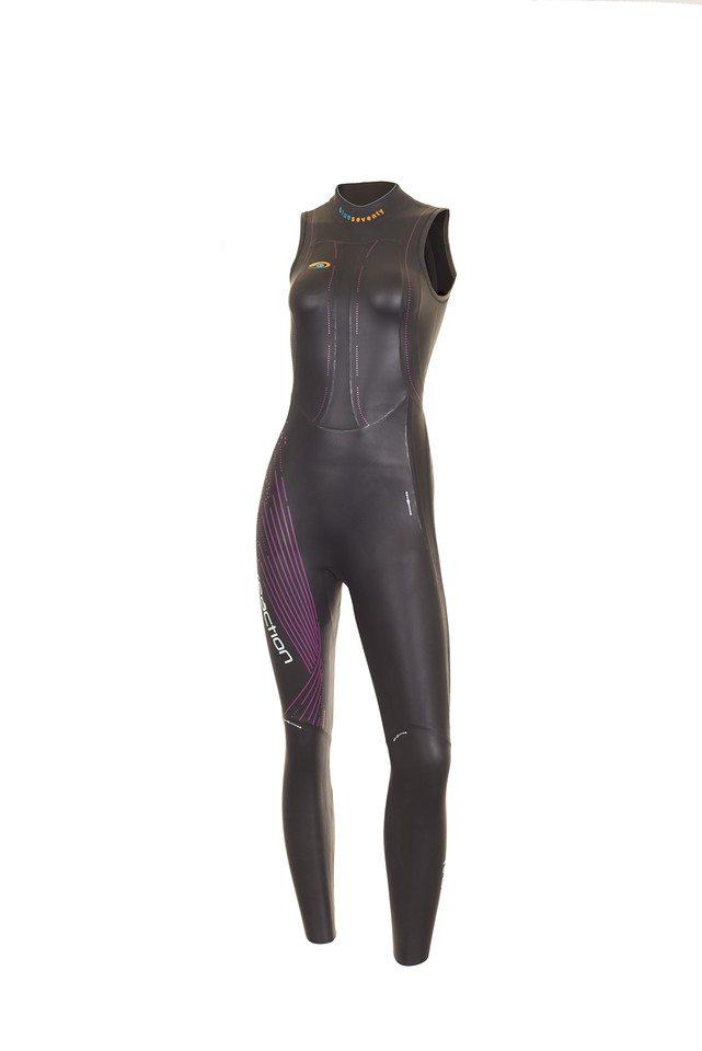 Blueseventy Womens Reaction Long John Triathlon wetsuits