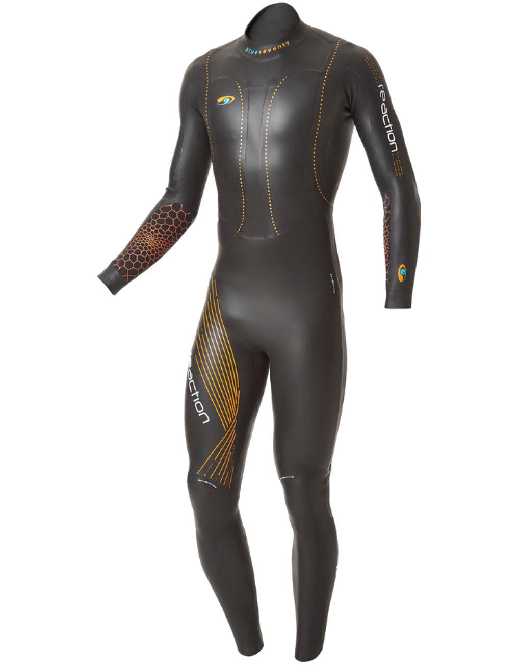 blueseventy mens reaction fullsleeve wetsuit triathlon