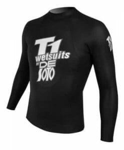 De Soto T1 Black Pearl Wetsuit Pullover