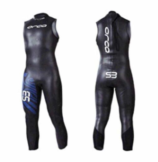Orca Men's S3 Sleeveless Triathlon Wetsuit