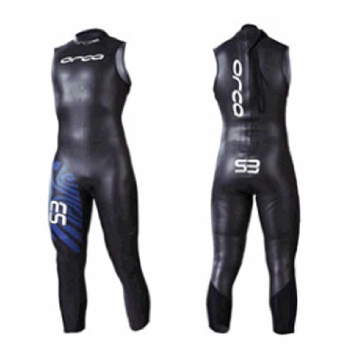 62dbae44f8 Orca Men s S3 Sleeveless Triathlon Wetsuit- Size 4 ONLY
