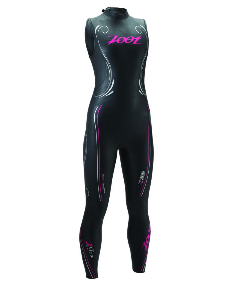 XL ONLY NEW 2015 Women/'s Zoot Z Force 1.0 Fullsleeve Triathlon Swimming Wetsuit