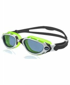 Zoggs Predator flex Reactor White Green