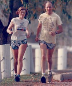 John and Judy Collins Running